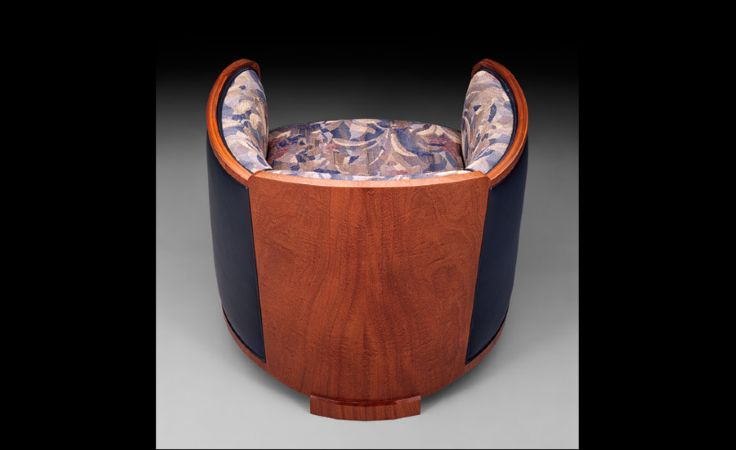 Barrel Chair 2