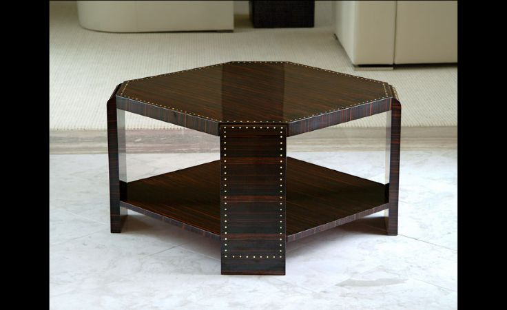 Ebony Square Table